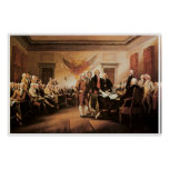 The Declaration of Independence, 4 July 1776 Print
