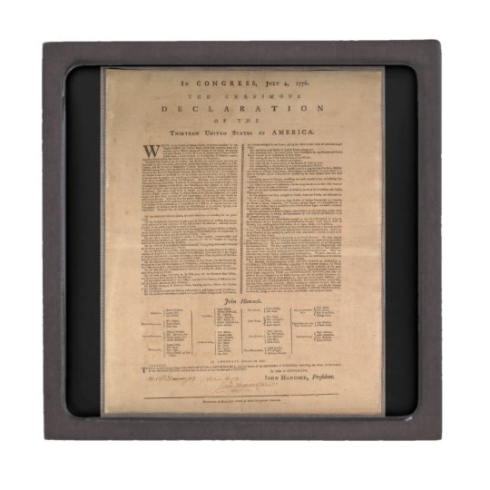 The Declaration of Independence Gift Box