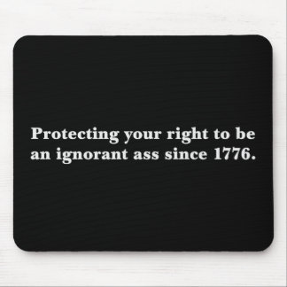 The Declaration of Independence is an important do Mouse Pad