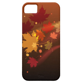 The decorative natural autumn iPhon case design. iPhone 5 Covers