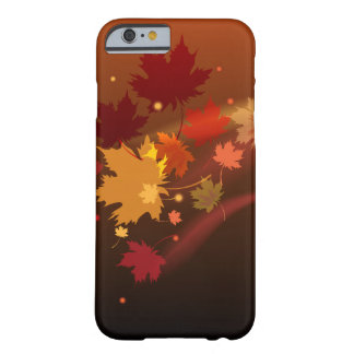 The decorative natural autumn iPhon case design. Barely There iPhone 6 Case
