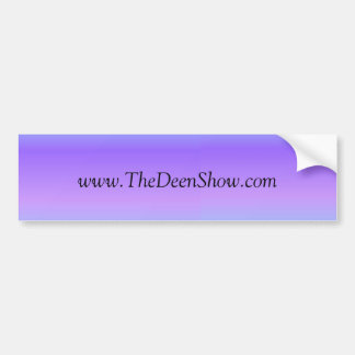 The Deen Show Bumper Sticker