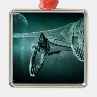The Deep 2 Metal Ornament