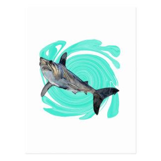 The Deep Blue Postcard