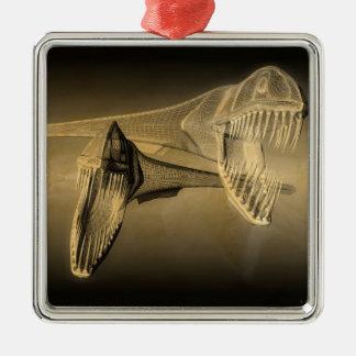The Deep Metal Ornament