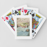 'The Deep Winter Came...', plate 5 from 'Europe. A Bicycle Playing Cards