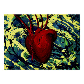 THE DEEPLY WOUNDED HEART ~ POSTER