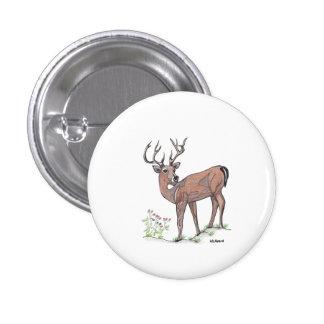""""""" The Deer """" Button"""