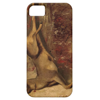 The Deer by Gustave Courbet iPhone SE/5/5s Case