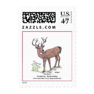 """"""" The Deer """" Postage"""