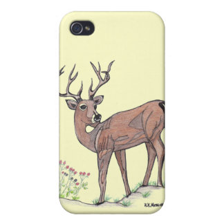 """ The Deer ""...Speck Case... iPhone 4 Covers"