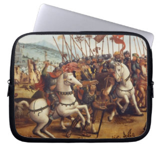 The Defeat of Athens by Minos, King of Crete, from Computer Sleeve
