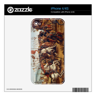 The Defeat of Athens by Minos, King of Crete, from Decal For iPhone 4S