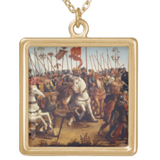 The Defeat of Athens by Minos, King of Crete, from Gold Plated Necklace