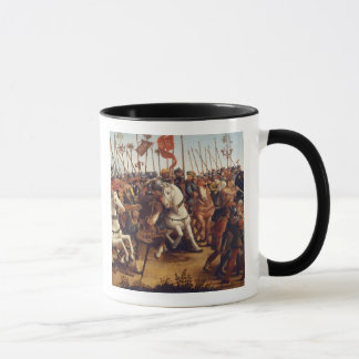 The Defeat of Athens by Minos, King of Crete, from Mug