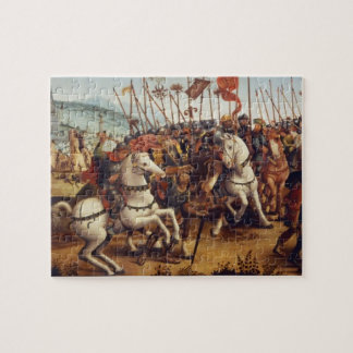The Defeat of Athens by Minos, King of Crete, from Jigsaw Puzzle