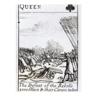 The Defeat of the Rebels at  Battle of Postcard