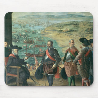 The Defence of Cadiz against the English, 1634 Mouse Pad