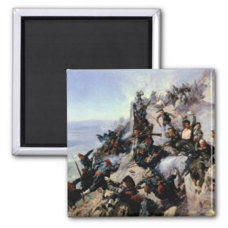The Defence of the Eagle Aerie 2 Inch Square Magnet