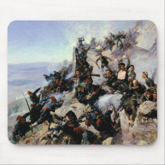 The Defence of the Eagle Aerie Mouse Pad