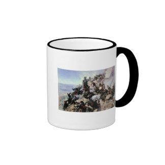 The Defence of the Eagle Aerie Coffee Mug