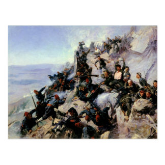The Defence of the Eagle Aerie Post Cards