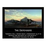 The Defenders Postcard