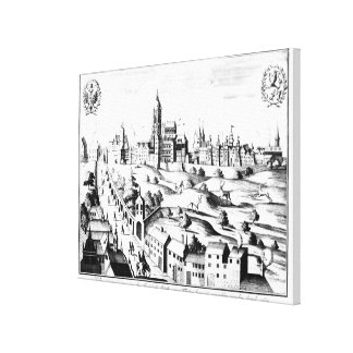 The Defenestration of Prague, 3rd August 1618 Canvas Print