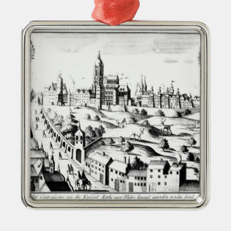 The Defenestration of Prague, 3rd August 1618 Metal Ornament