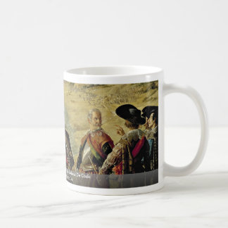 The Defense Of Cádiz, Spanish: La Defensa De Cádiz Classic White Coffee Mug