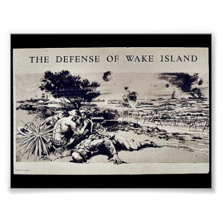 The Defense Of Wake Island Poster