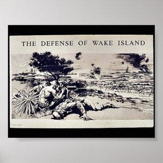 The Defense Of Wake Island Print