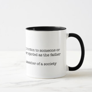 The Definition of a Father Mug