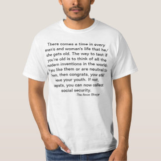 The Definition of Aging T Shirt