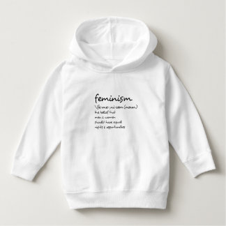 The Definition Of Feminism Hoodie