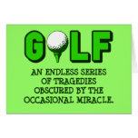 THE DEFINITION OF GOLF CARD