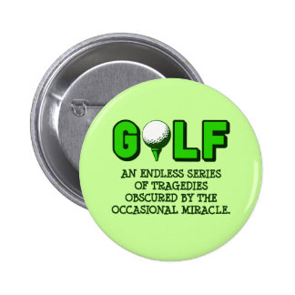 THE DEFINITION OF GOLF PINBACK BUTTON