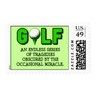 THE DEFINITION OF GOLF STAMPS