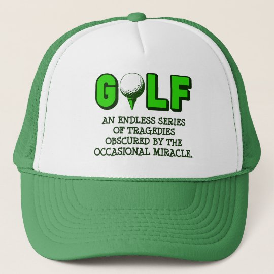 THE DEFINITION OF GOLF TRUCKER HAT