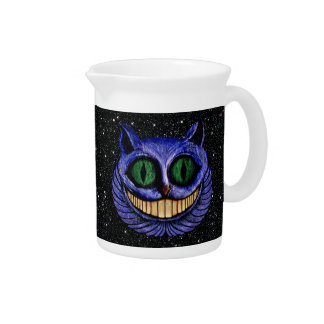 The Definitive CHESHIRE CAT Head ~ Drink Pitcher