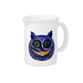 The Definitive CHESHIRE CAT Head ~ Pitcher
