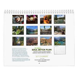 The Definitive Soul Detox Plan 2017 Calendar