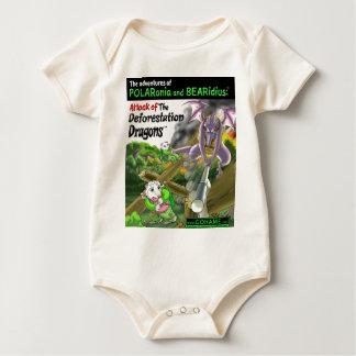 The Deforestation Dragons Baby Bodysuit