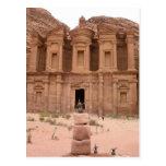 The Deir at Petra Postcard