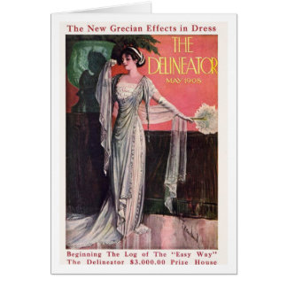 The Delineator 1908 Card