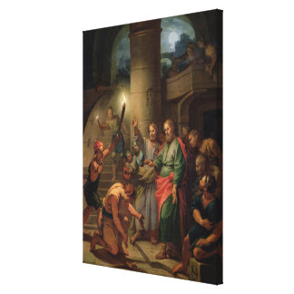 The Deliverance of St. Paul and St. Barnabas Canvas Print