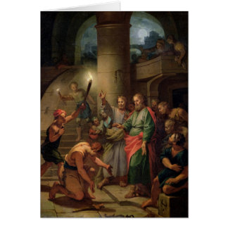 The Deliverance of St. Paul and St. Barnabas Card