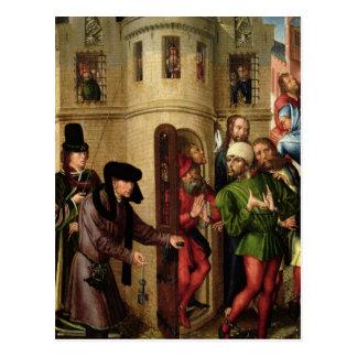 The Deliverance of the Prisoners, c.1470 Postcard