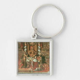 The Delivery of the Augsburg Confession Key Chain