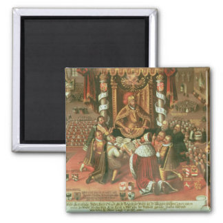 The Delivery of the Augsburg Confession Fridge Magnet